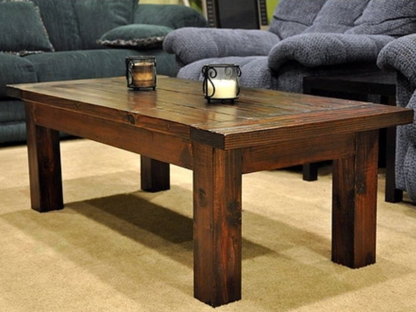 Fantastic Well Known Solid Wood Coffee Tables In Solid Wood Coffee Table Design Images Photos Pictures (Image 25 of 50)