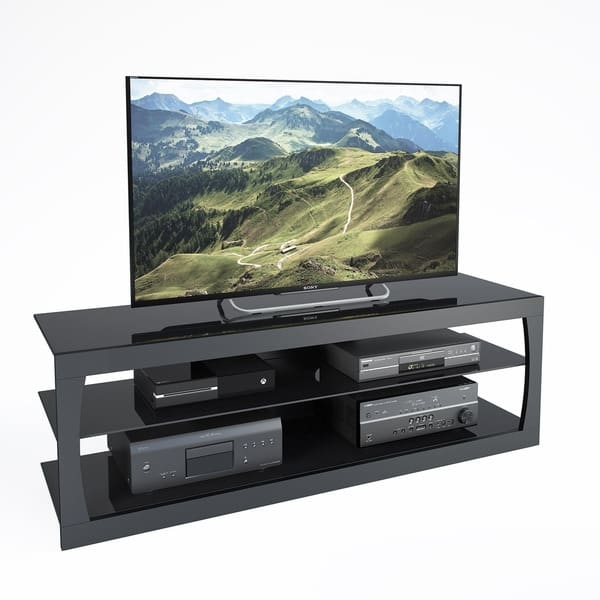 Fantastic Well Known Sonax TV Stands Regarding Corliving Santa Lana Tv Stand For Tvs Up To 70 Free Shipping (Image 15 of 50)