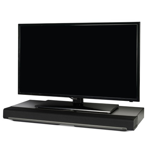 Fantastic Well Known Sonos TV Stands In Flexson Tv Stand For Sonos Playbar Black Single Sonos (View 3 of 50)