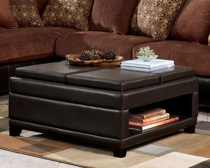 Fantastic Wellknown Square Coffee Tables With Storages Intended For Best 25 Storage Ottoman Coffee Table Ideas On Pinterest (View 12 of 50)