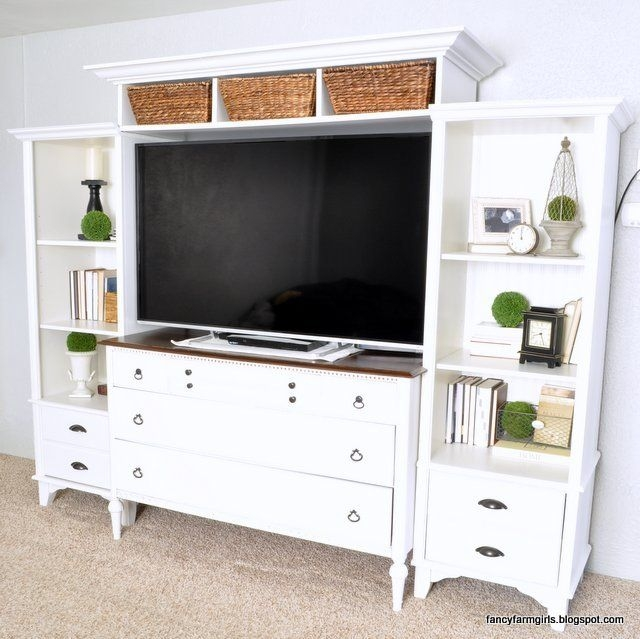 Fantastic Wellknown TV Stands With Matching Bookcases Pertaining To Best 25 Dresser Bookshelf Ideas On Pinterest Cheap Bookcase (View 34 of 50)