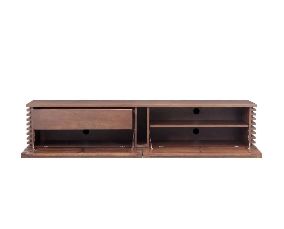 Fantastic Wellknown Walnut TV Stands Throughout Walnut Modern Tv Stand Z052 Tv Stands (View 37 of 50)