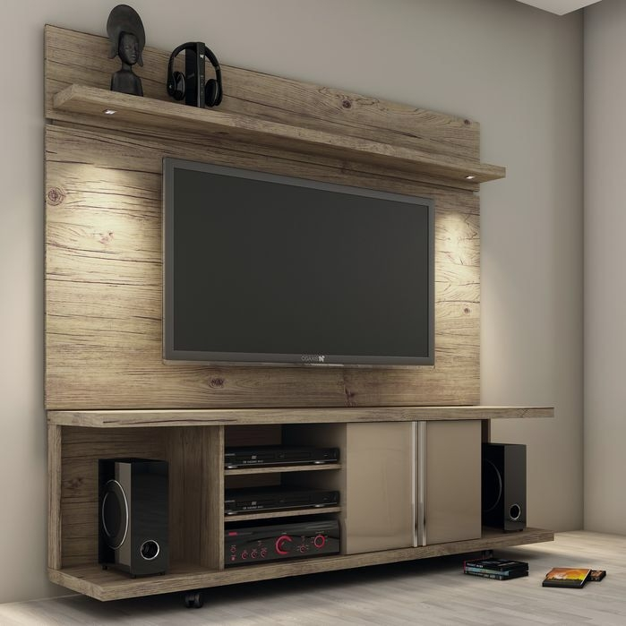 Fantastic Wellknown Wooden TV Stands With Wheels For Best 25 Rolling Tv Stand Ideas Only On Pinterest Tv Stand With (Image 24 of 50)