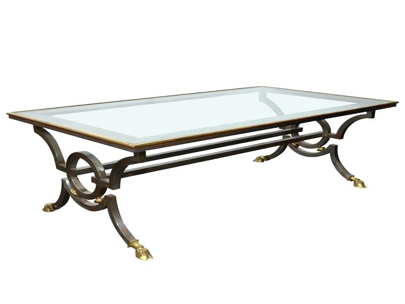 Fantastic Well Known Wrought Iron Coffee Tables In Coffee Table Glass Wrought Iron Coffee Table Tablewrought Bases (Image 21 of 50)