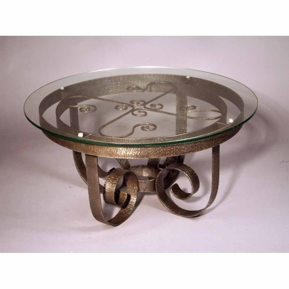 Fantastic Well Known Wrought Iron Coffee Tables With Collection In Round Wrought Iron Coffee Table Coffee Table Small (Image 22 of 50)