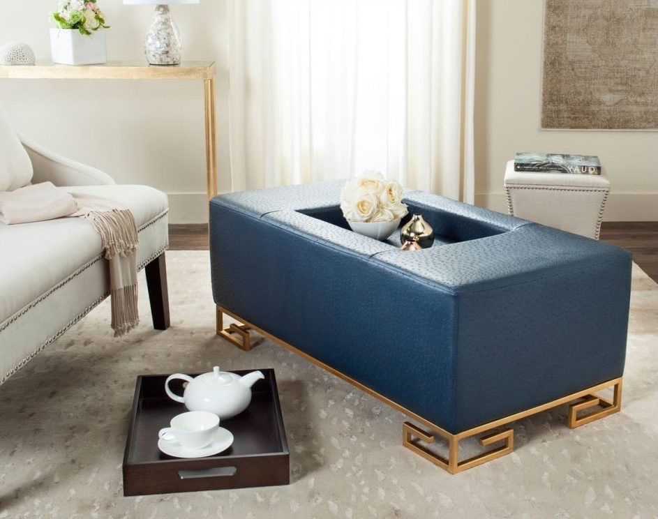 Fantastic Wellliked Blue Coffee Tables Intended For Navy Blue Coffee Table Chelsea Navy Blue Lacquer Coffee Table (Image 21 of 50)