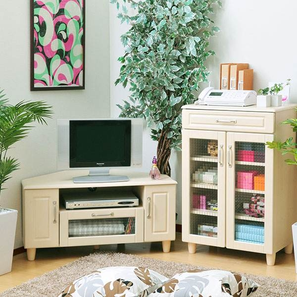 Fantastic Wellliked French Country TV Cabinets With Regard To Arne Rakuten Global Market Tv Stand Corner Snack Lowboard (Image 24 of 50)