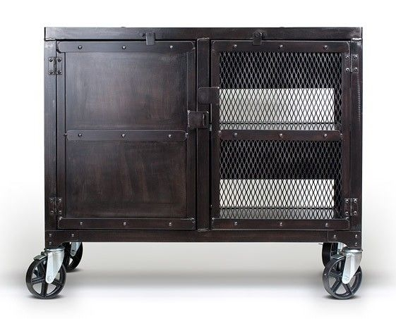Fantastic Wellliked Industrial Metal TV Cabinets Regarding Best 20 Industrial Media Cabinets Ideas On Pinterest Industrial (Image 23 of 50)