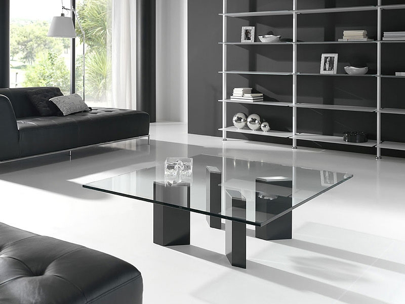 Fantastic Wellliked Large Glass Coffee Tables Regarding Large Square Coffee Table Glass Top Jericho Mafjar Project (Image 21 of 50)