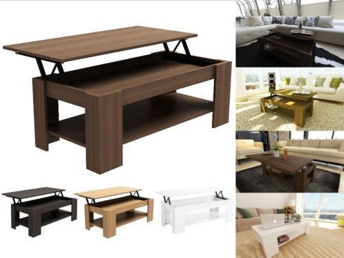 Fantastic Wellliked Lift Up Top Coffee Tables With Caspian Modern Lift Up Top Coffee Table With Storage Espresso (Image 16 of 40)