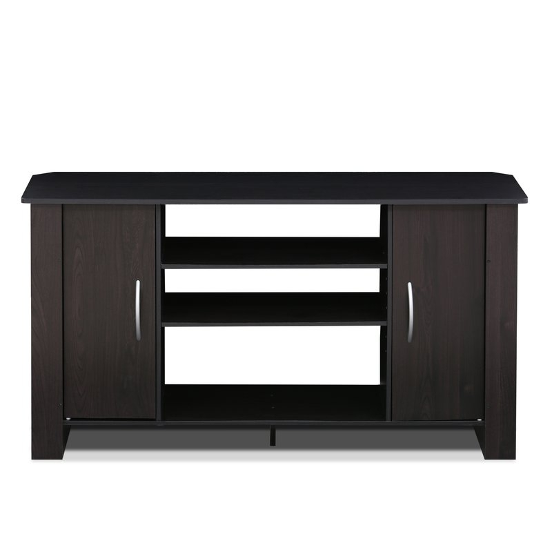 Fantastic Wellliked Long Black TV Stands Inside Tv Stands Entertainment Centers Youll Love Wayfair (View 32 of 50)