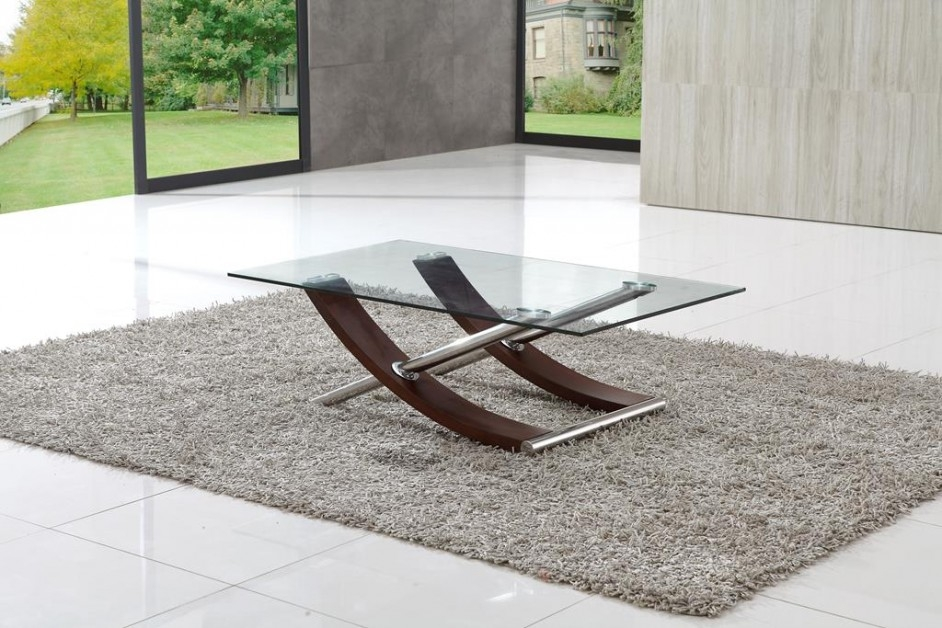 Fantastic Wellliked Modern Glass Coffee Tables Pertaining To Modern Glass Coffee Table (View 3 of 50)