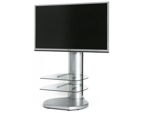 Fantastic Wellliked Off The Wall TV Stands With Regard To Off The Wall Origin Ii S4 Silver Tv Stands (View 17 of 50)