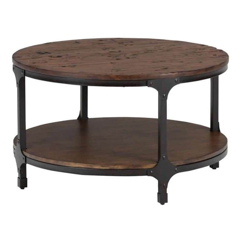 Fantastic Wellliked Round Coffee Tables With Round Coffee Tables Round Coffee Table Cymax (Image 22 of 50)
