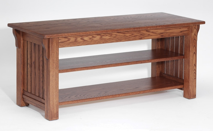 Fantastic Wellliked Solid Oak TV Stands Regarding Authentic Mission Style Solid Oak Tv Stand 51 The Oak (Image 18 of 50)