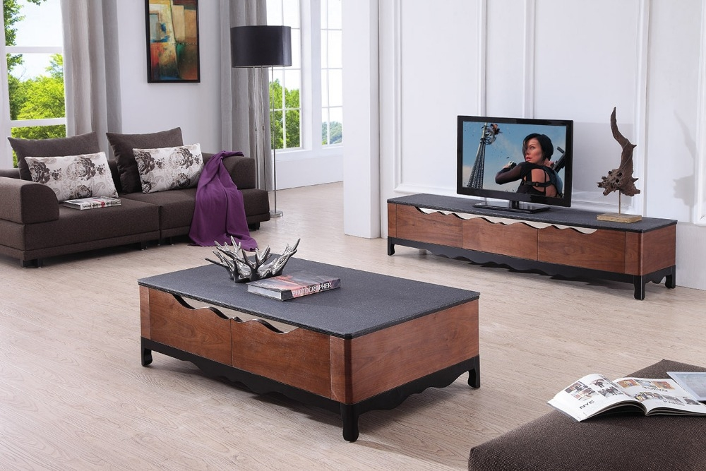 Fantastic Wellliked TV Stand Coffee Table Sets Throughout Furniture Study Table Picture More Detailed Picture About Lizz (View 3 of 50)