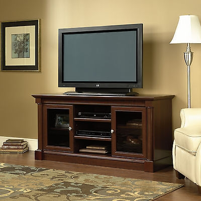 Fantastic Widely Used Cherry Wood TV Stands Intended For Entertainment Tv Stand Credenza Media Center Cabinets Classic (Image 18 of 50)