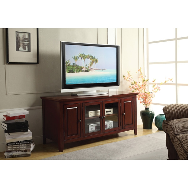 Fantastic Widely Used Cherry Wood TV Stands Regarding Tv Stands Outstanding Cherry Tv Stand 2017 Design Solid Cherry Tv (Image 19 of 50)