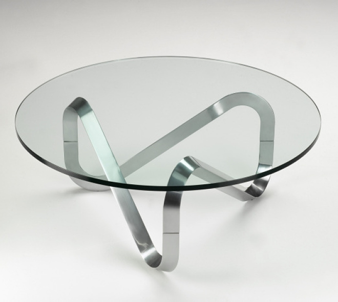 Fantastic Widely Used Circular Glass Coffee Tables Inside Living Room Top Coffee Table Glass Circle Simple Round In Prepare (Image 16 of 50)