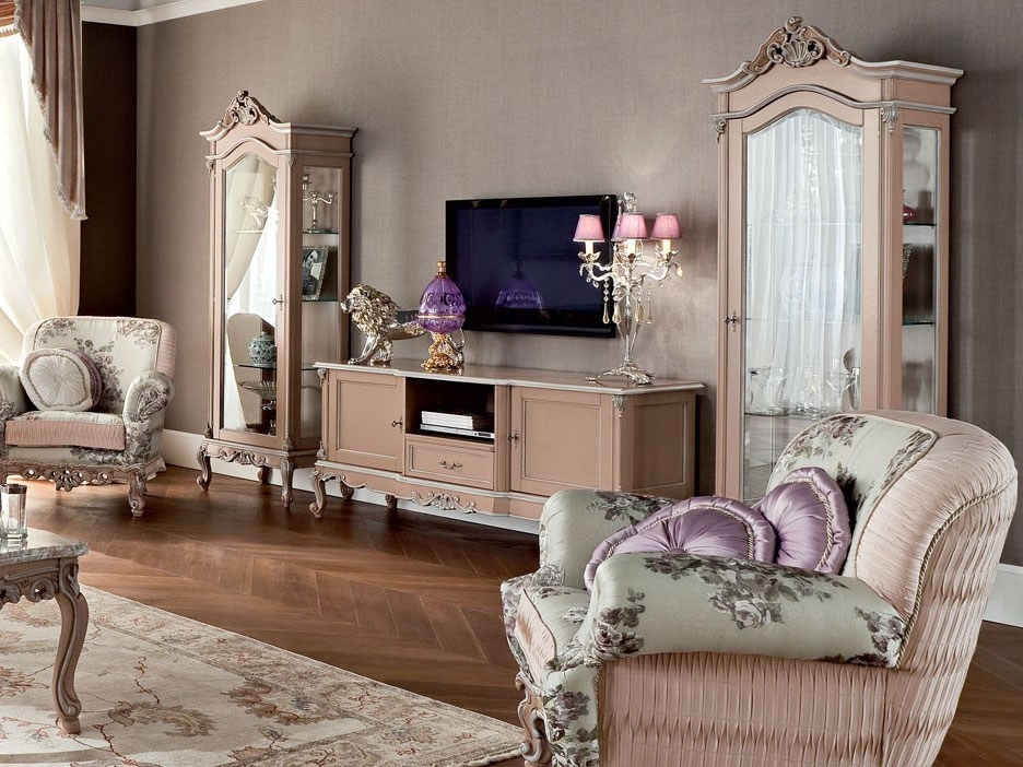 Fantastic Widely Used Classic TV Cabinets With 12110 Tv Cabinet Modenese Gastone (Image 22 of 50)