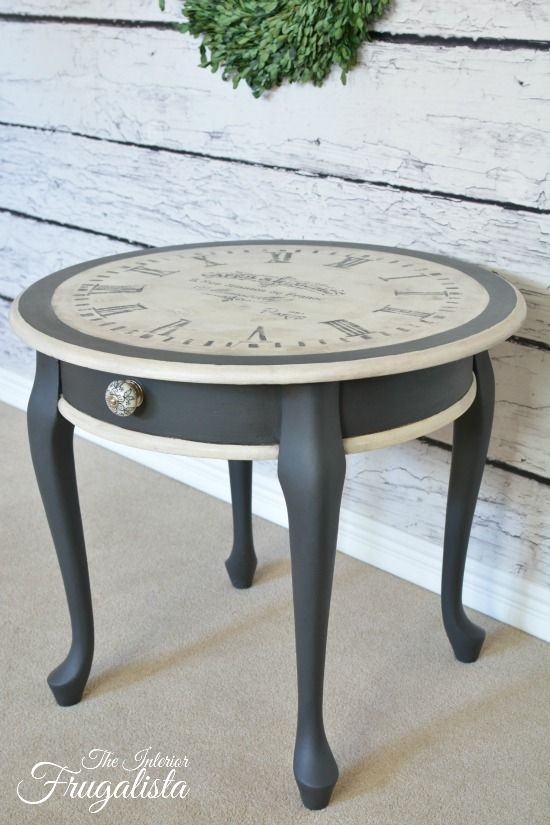 Fantastic Widely Used Clock Coffee Tables Round Shaped With Best 20 Clock Table Ideas On Pinterest Small Round Side Table (Image 22 of 50)