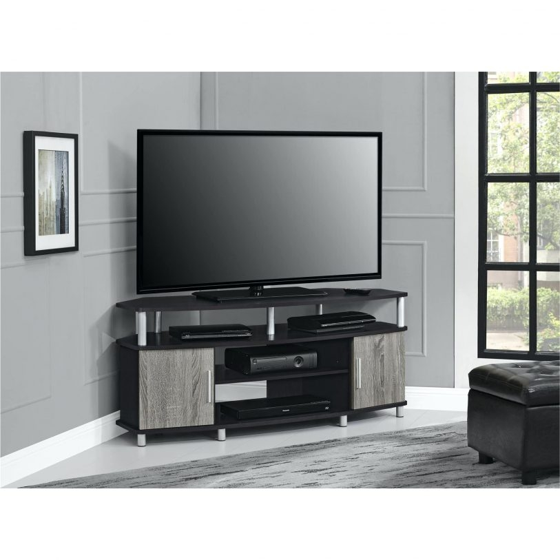 Fantastic Widely Used Corner TV Stands For 46 Inch Flat Screen Intended For Modern Corner Tv Stands Flideco (Image 25 of 50)