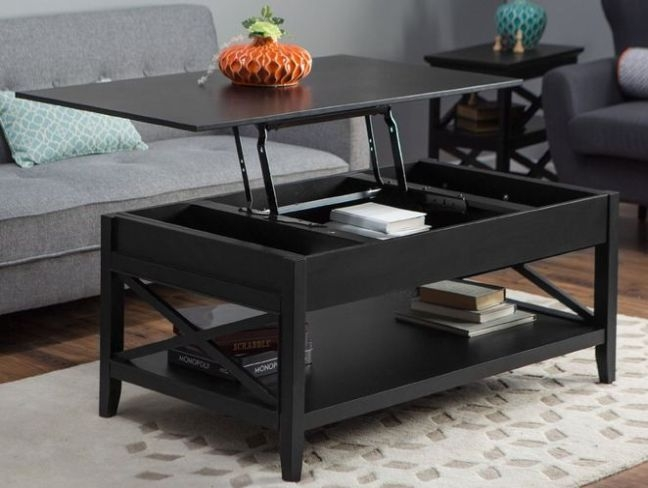 Fantastic Widely Used Flip Up Coffee Tables Throughout Storage Coffee Table Ikea (Image 16 of 50)