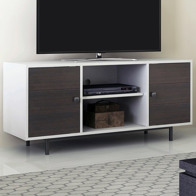 Fantastic Widely Used Mahogany Corner TV Stands With Regard To Cherry Tv Stands Youll Love Wayfair (Image 20 of 50)