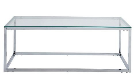 Fantastic Widely Used Rectangle Glass Chrome Coffee Tables Within Coffee Table Exciting Rectangle Glass Coffee Table Uk Glass (View 12 of 50)