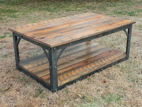 Fantastic Widely Used Rustic Barnwood Coffee Tables Within 26 Best Reclaimed Lumber Furniture Images On Pinterest Reclaimed (View 44 of 50)