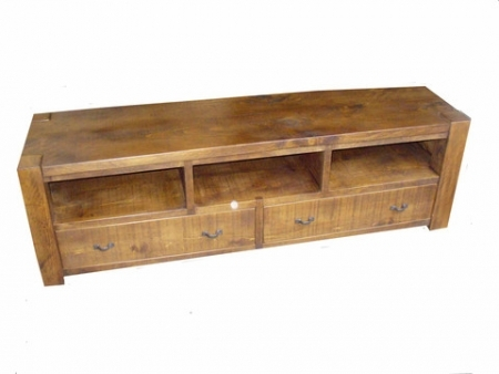 Fantastic Widely Used Rustic Pine TV Cabinets Throughout Entertainment Tv Cabinet Rustic Plank Furniture (Image 14 of 50)