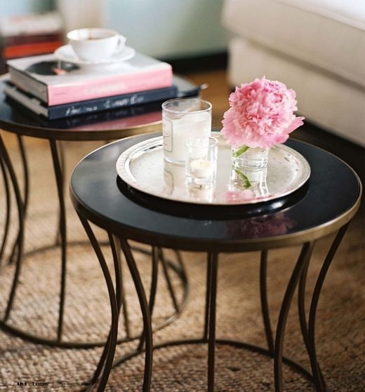 Fantastic Widely Used Small Round Coffee Tables Pertaining To Best 20 Small Coffee Table Ideas On Pinterest Diy Tall Desk (Image 17 of 50)