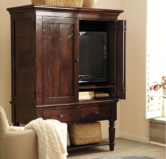 Fantastic Widely Used Traditional TV Cabinets Throughout Armoire Stunning Media Armoires Cabinets Design Corner Media (Image 18 of 50)