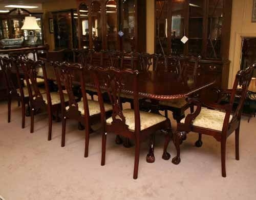 Fascinating Mahogany Dining Room Tables Pictures – 3D House Intended For Mahogany Dining Tables Sets (Image 11 of 20)