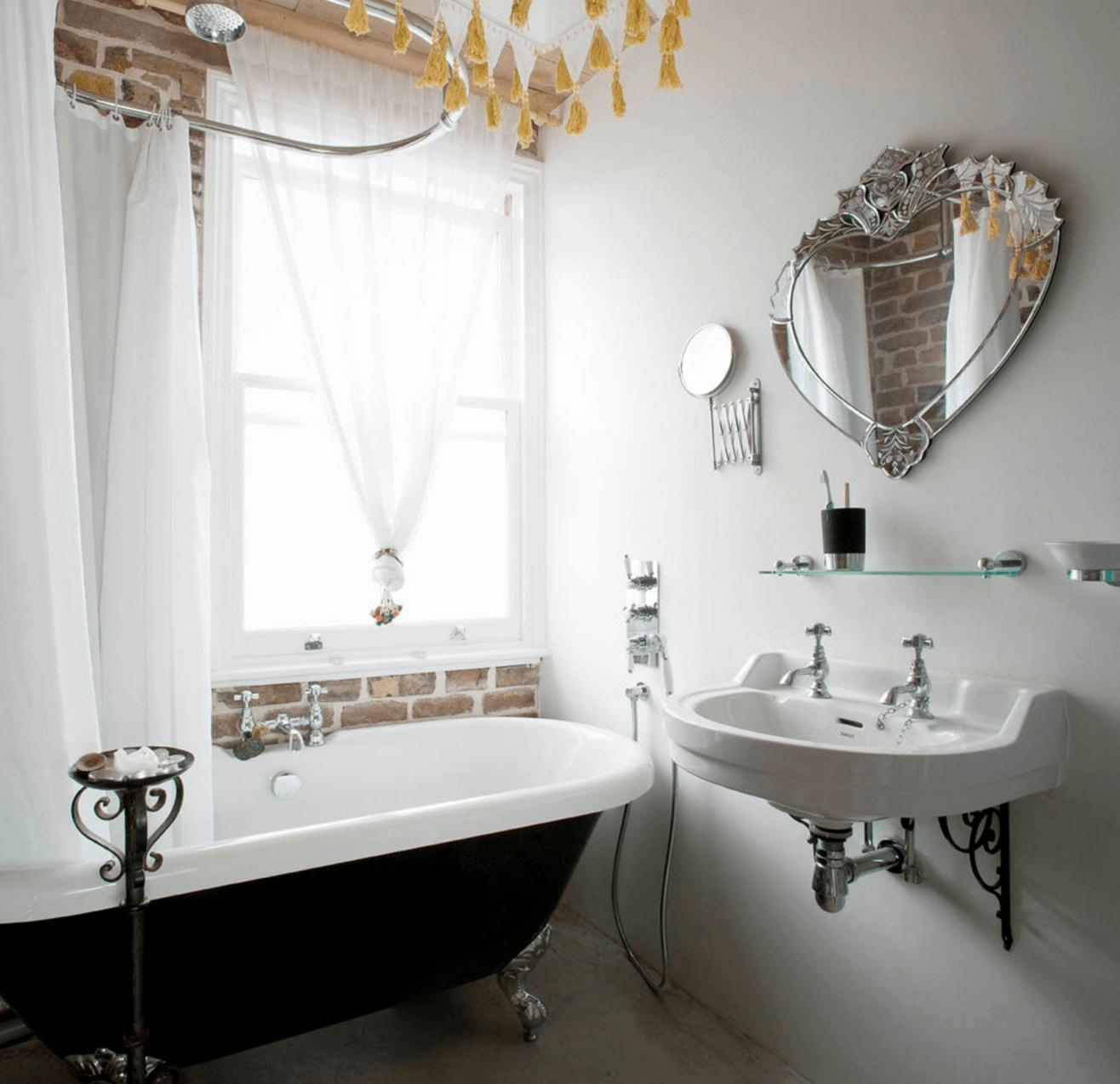 Fashionable Antique Bathroom Mirror 14 Best Vintage Light And For Vintage Style Mirrors (Image 10 of 20)