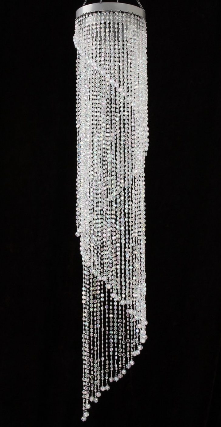 Fearsome Fake Crystal Chandelier Image Ideas Maxresdefault Diy Throughout Acrylic Chandeliers (View 18 of 25)
