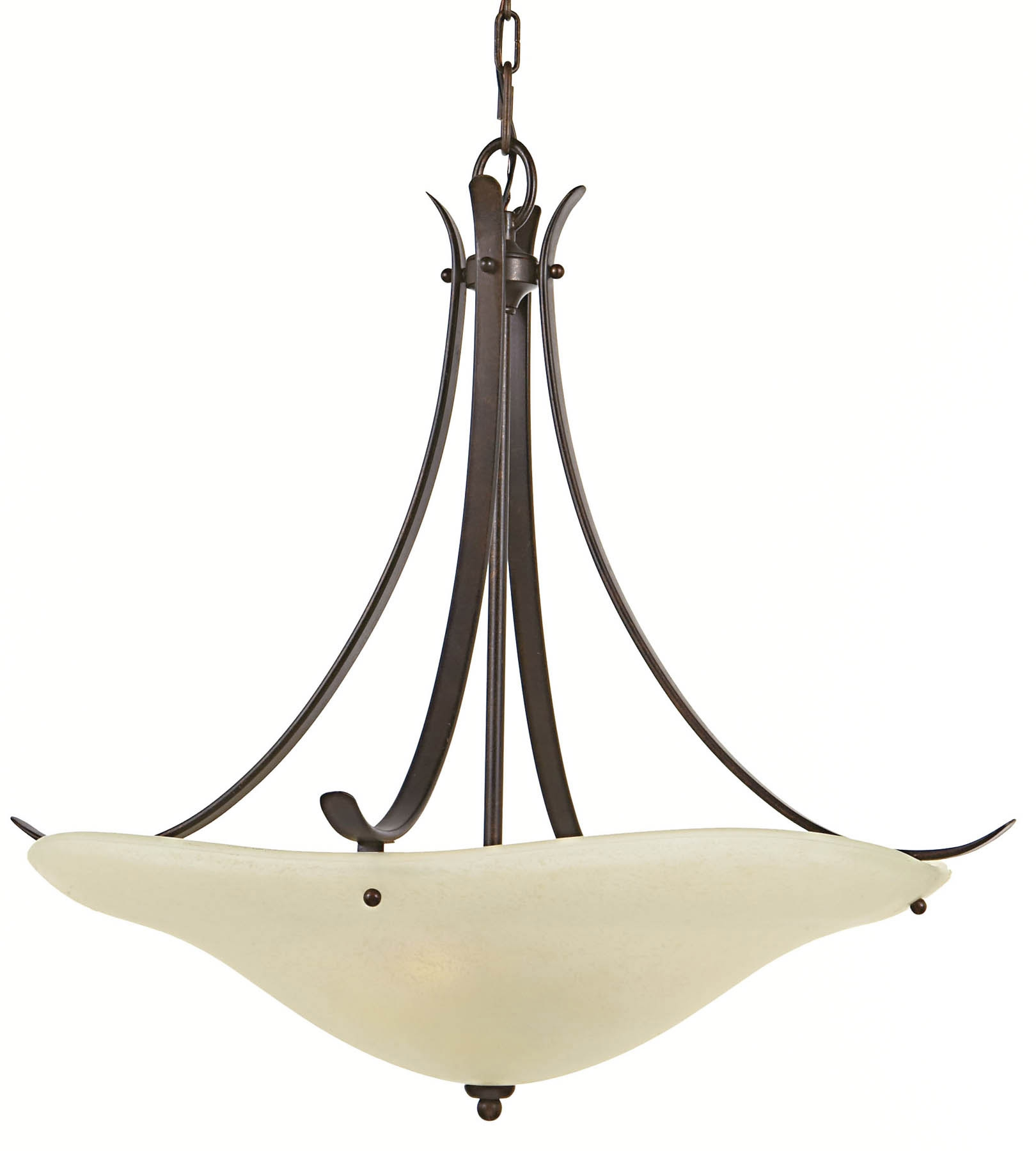 Feiss F20463gbz Morningside Inverted Pendant Hanging Lamp For Inverted Pendant Chandeliers (Image 11 of 25)