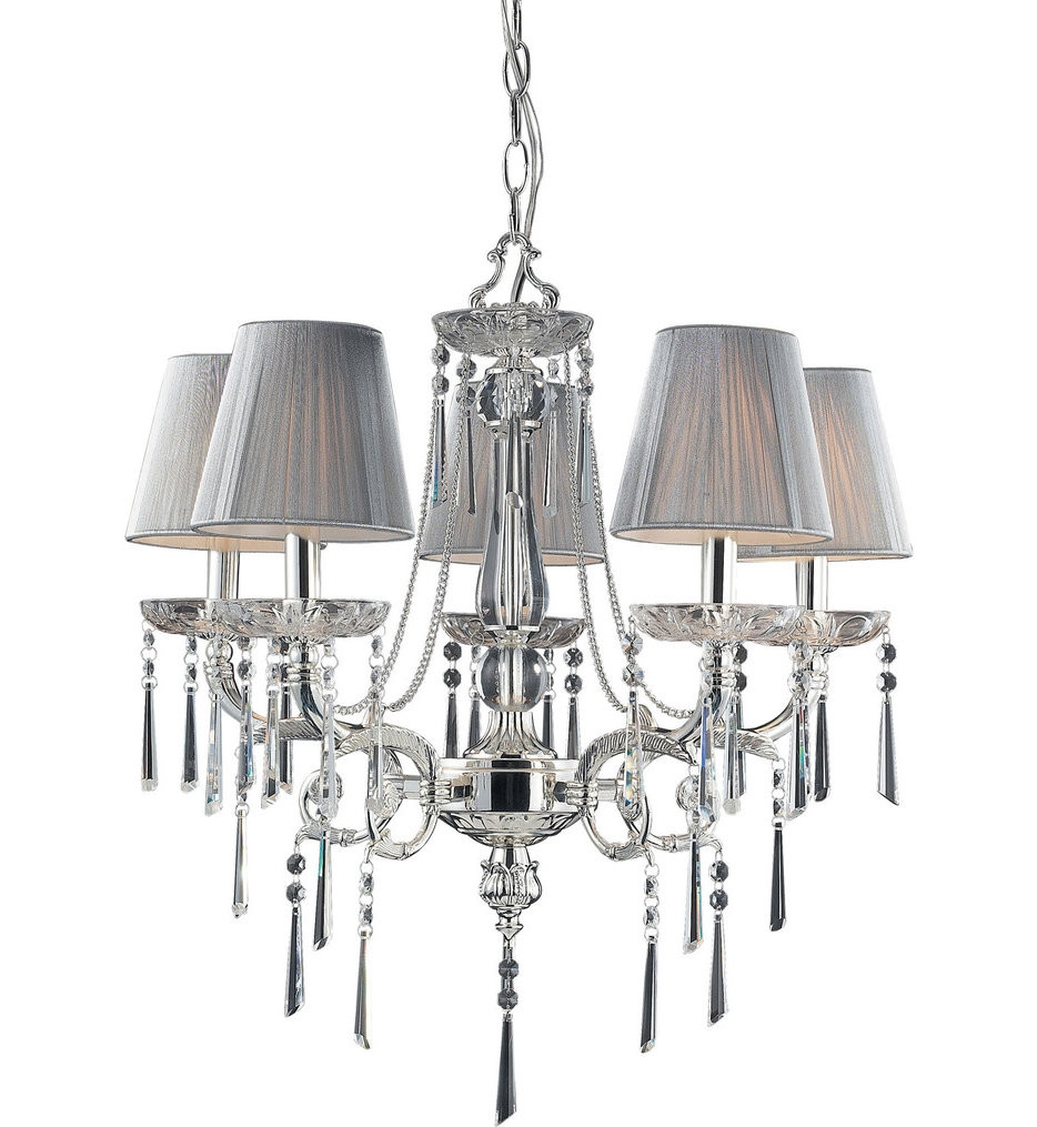 Feiss Gianna Scuro 4 Light Mini Chandelier Lamps With Regard To Gianna Mini Chandeliers (Image 11 of 25)