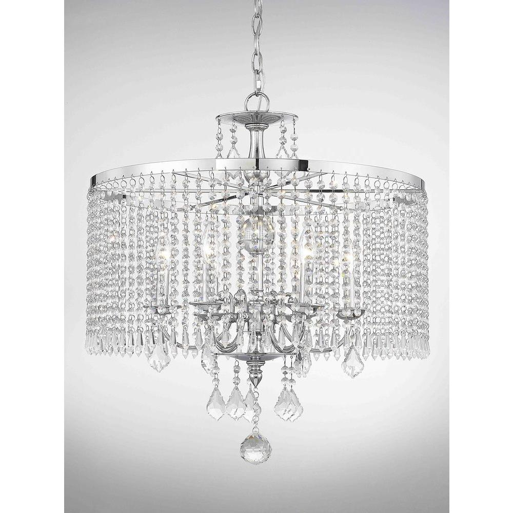 Featured Image of Crystal Chrome Chandeliers