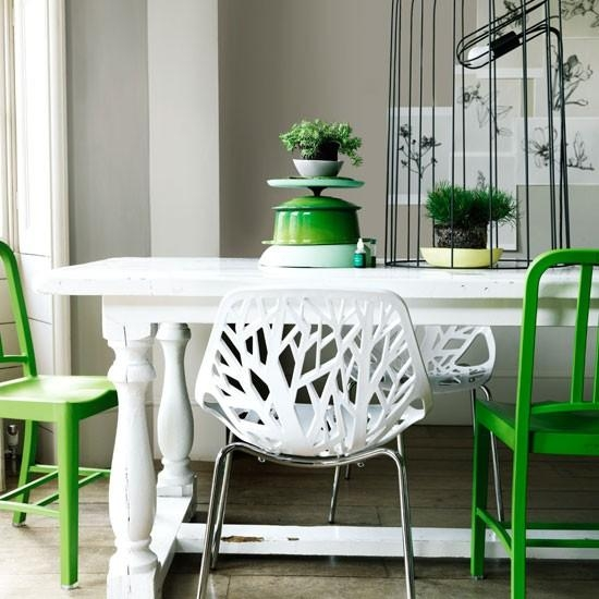 Fine Decoration Green Dining Table Luxurious And Splendid 7 Paint Within Green Dining Tables (Image 16 of 20)