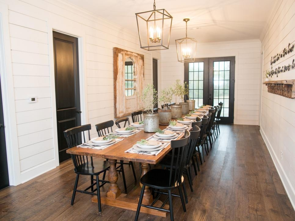 Fixer Upper: A Very Special House In The Country | Hgtv's Fixer For Barn House Dining Tables (View 18 of 20)