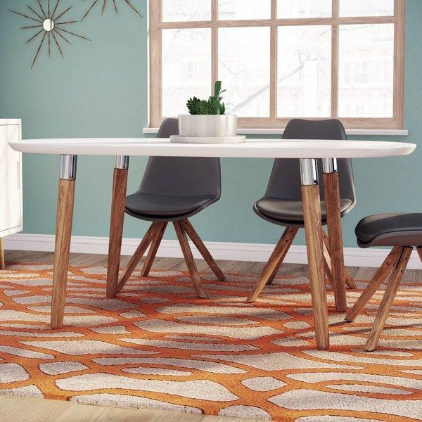 Fjørde & Co Brittany Dining Table & Reviews | Wayfair.co (Image 16 of 20)