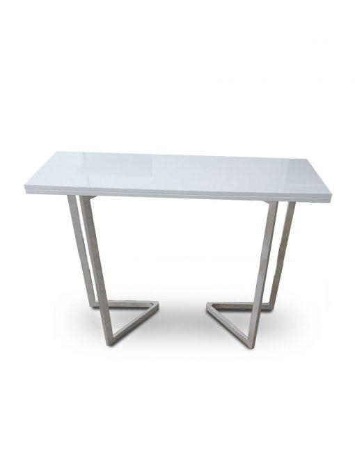 Flip Counter Height – Transforming Console | Expand Furniture Intended For Counter Height Sofa Tables (View 10 of 20)