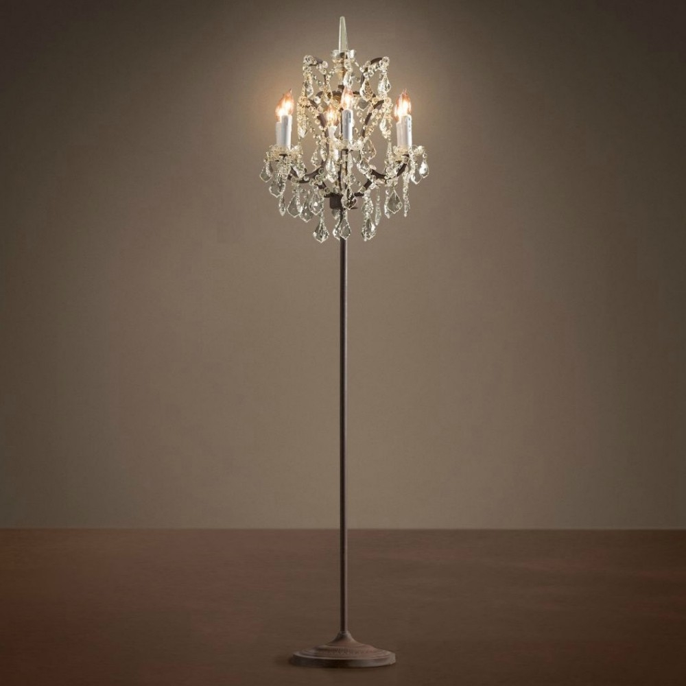 Floor Lamp Floor Lamp Suppliers And Manufacturers At Alibaba In Standing Chandeliers (View 21 of 25)
