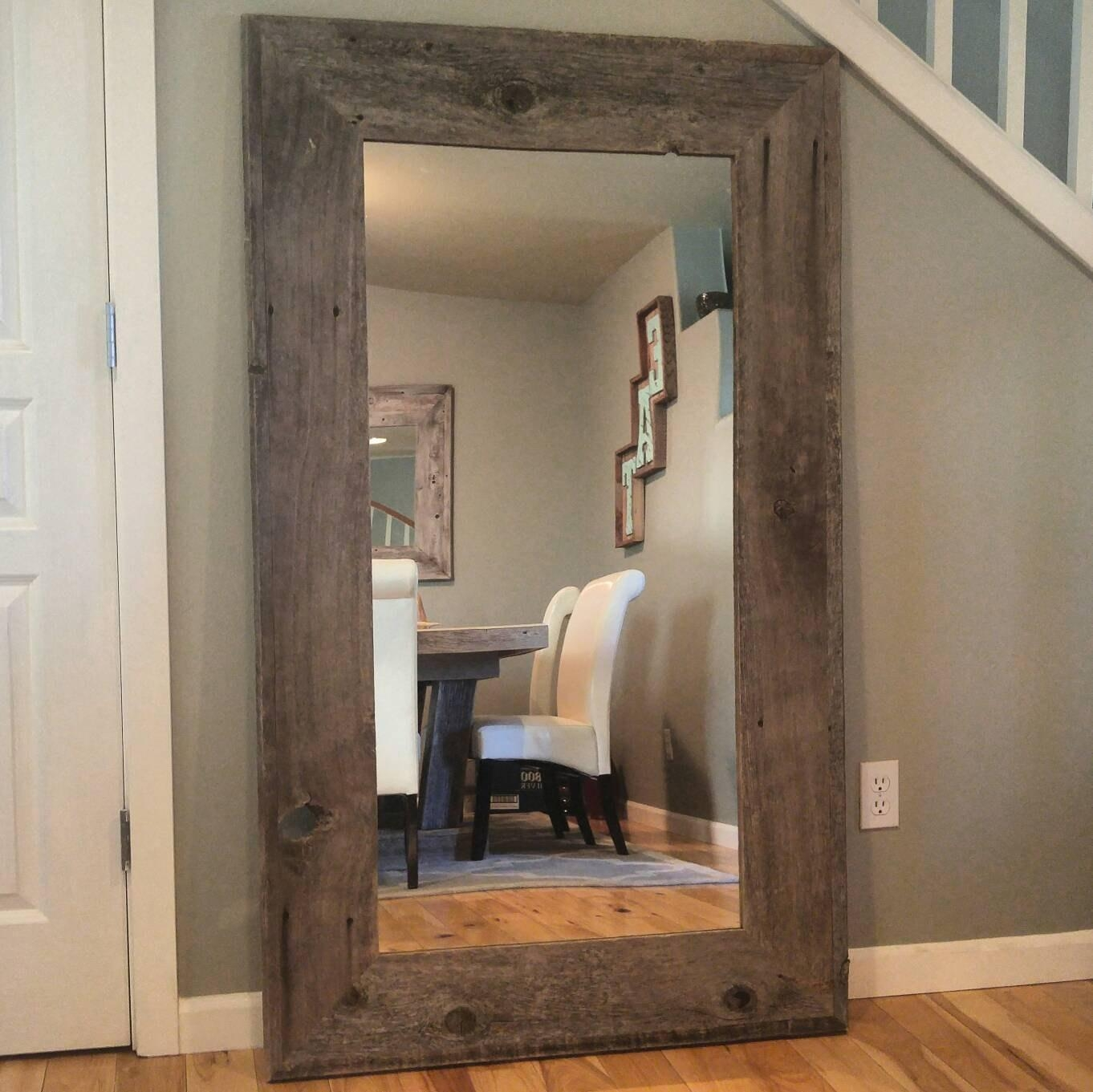 Flooring : Top Brass Vintage Retro Wallrror Full Length Loaf For Vintage Floor Length Mirror (Image 15 of 20)
