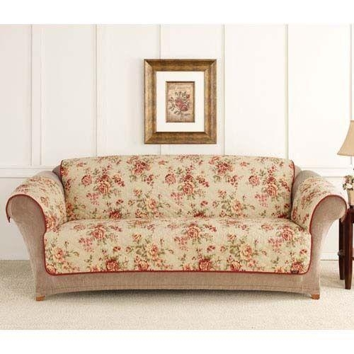 Floral Sofa Covers | Ira Design With Floral Sofa Slipcovers (View 5 of 20)