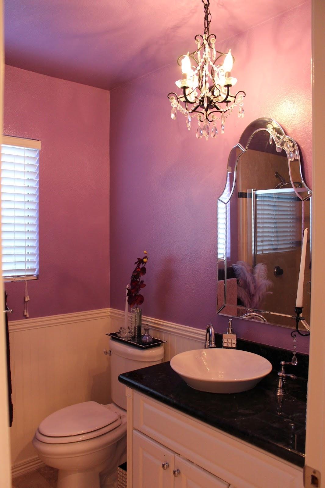 Flower Twig Fixture 3 Light Bathroom Chandeliers Bathroom Throughout Bathroom Safe Chandeliers (Image 17 of 24)