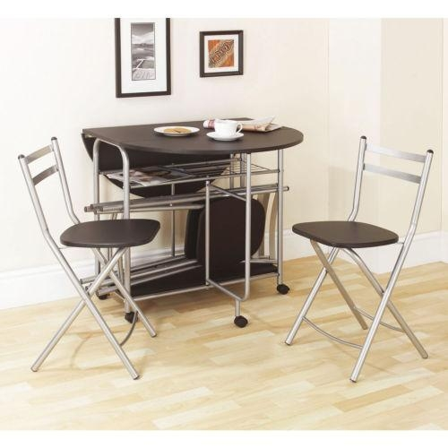 Fold Away Dining Table And Chairs – Creditrestore Throughout Foldaway Dining Tables (Image 9 of 20)