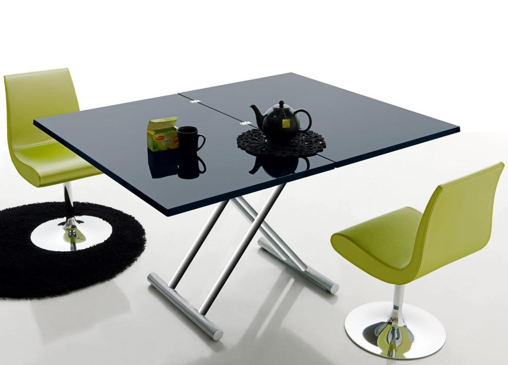 Foldable Dining Table With Black Folding Dining Tables And Chairs (Image 8 of 20)