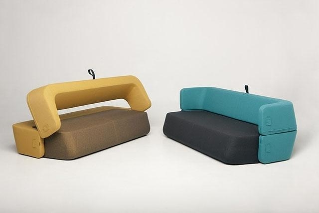 Foldable Sofa | Design Your Life With Regard To Collapsible Sofas (Image 15 of 20)